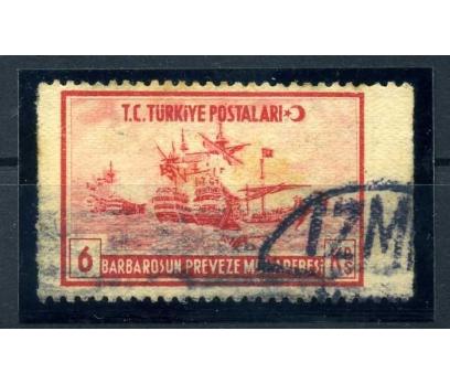 ERÖR CUMH. 1941 BARBAROS 6 KRŞ GEMİ YANLAR D.SİZ(M
