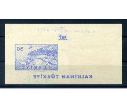 ERÖR CUMH. 1956 K.TÜRKİYE MAVİ BASKI ABKLAÇ(M) 1