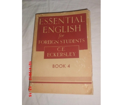 ESSENTIAL ENGLISH FOR FOREIGN STUDIENTS - BOOK 4