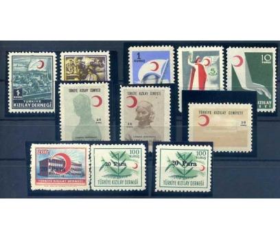 KIZILAY ** 1953-55 4  TAM SERİ SÜPER