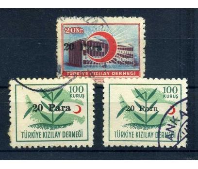 KIZILAY DAMGALI 1955 20 P SÜRŞARJLI TAM SERİ