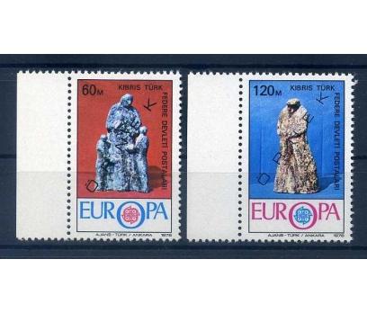 ÖRNEK BASKI  KKTC  1976  EUROPA CEPT TAM SERİ