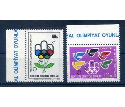 ÖRNEK BASKI  KKTC  1976 MONTREAL OLİMP. TAM SERİ
