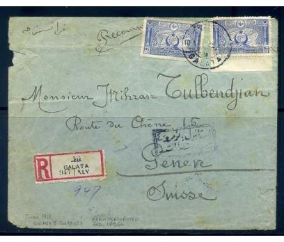 OSMANLI 1918 GALATA 9  DAMG. TAAH. PGZ(290415)
