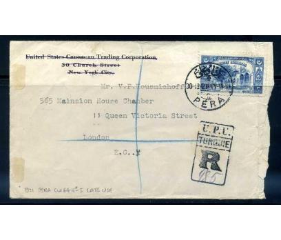 OSMANLI 1921 PERA 5  DAMG. TAAH. PGZ(290415)
