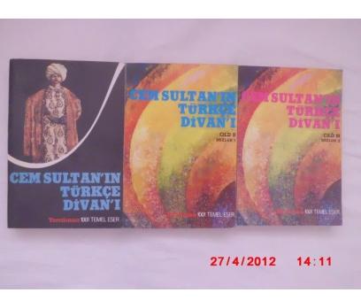 Cem Sultan'ın Türkçe Divanı 1-2-3