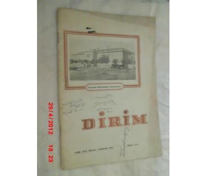 DİRİM (AYLIK TIP DERGİSİ)MAYIS-HAZİRAN 1944
