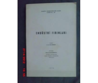 ENDÜSTRİ FIRINLARI /J.D.GILCHRIST/MAK.MÜH.ODASI
