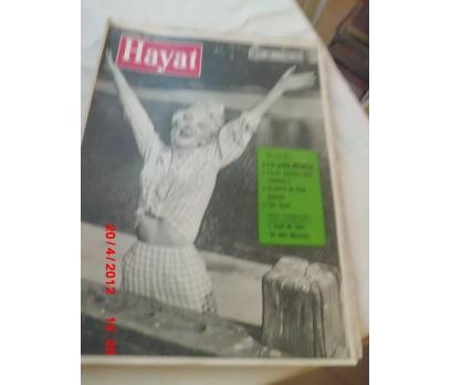 HAYAT DERGİSİ 1960 SAYI 36 CAROLE LESLEY