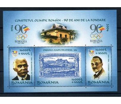 ROMANYA ** 2004 OLİMPİYATLAR 90.YIL BLOK
