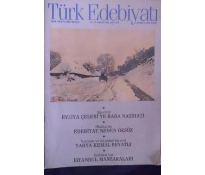 TÜRK EDEBİYATI DERGİSİ - ARALIK 1994 SAYI 254