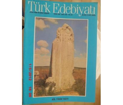 TÜRK EDEBİYATI DERGİSİ - EKİM 1995 SAYI 264