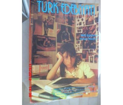 TÜRK EDEBİYATI DERGİSİ - EYLÜL 1986 SAYI 155