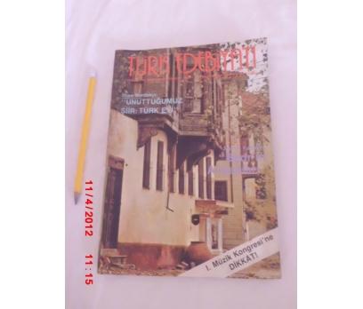 TÜRK EDEBİYATI DERGİSİ HAZİRAN 1988 SAYI 176