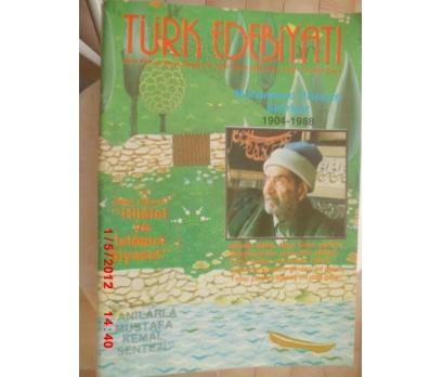 TÜRK EDEBİYATI DERGİSİ - KASIM 1988 SAYI 181
