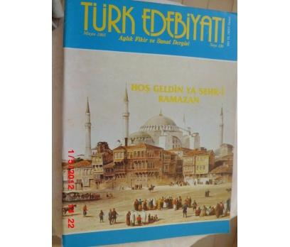 TÜRK EDEBİYATI DERGİSİ - MAYIS 1985 SAYI 139