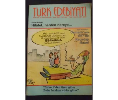 TÜRK EDEBİYATI DERGİSİ - OCAK 1989 SAYI 183