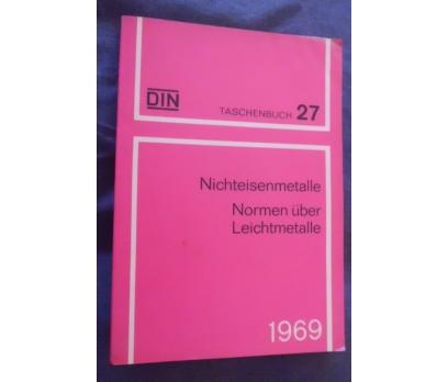 DIN TASCHENBUCH 27 / NICHTEISENMETALLE 1969