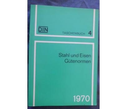 DIN TASCHENBUCH 4 / STAHL UND EISEN GUTENOR.1970