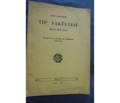 A.Ü TIP FAKÜLTESİ MECMUASI CİLT 1 SAYI 4 1947