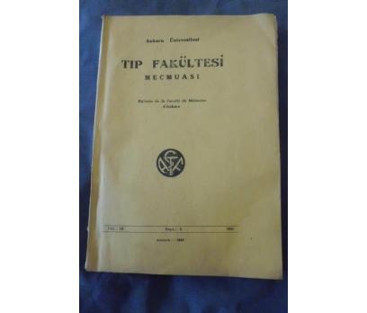 A.Ü TIP FAKÜLTESİ MECMUASI CİLT 3 SAYI 3 1949