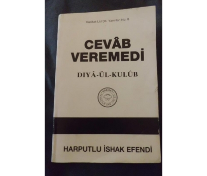 CEVAB VEREMEDİ / DIYA ÜL KULÜB - İSHAK EFENDİ