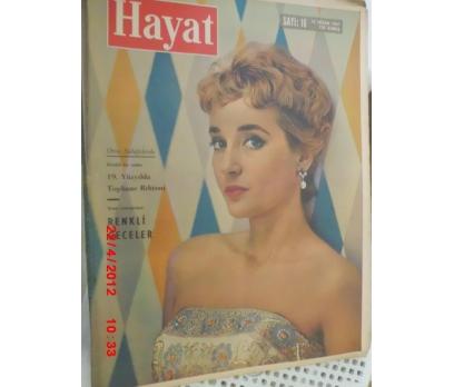 HAYAT DERGİSİ 1961 SAYI 16 SLYVIA SYNIS