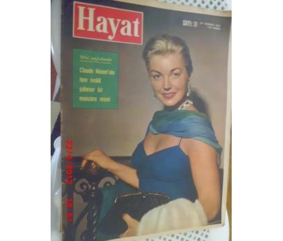 HAYAT DERGİSİ 1961 SAYI 31 ESTHER WILLIAMS