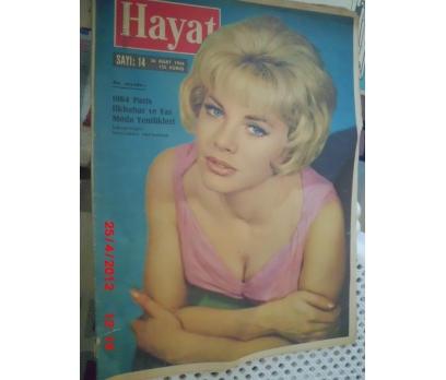 HAYAT DERGİSİ 1964 SAYI 14 SOPHIA HARDY