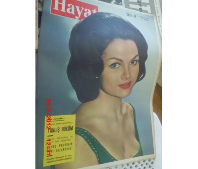 HAYAT DERGİSİ 1964 SAYI 48 NORMA FOSTER
