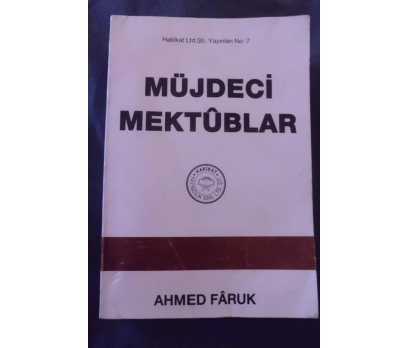MÜJDECİ MEKTUBLAR - AHMET FARUK