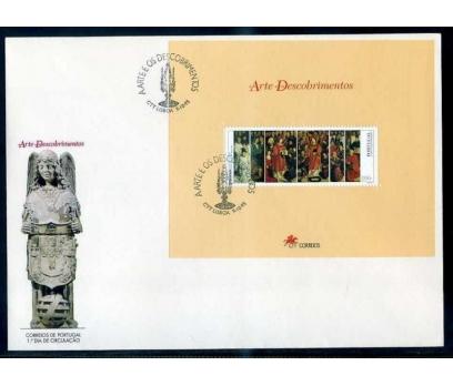 PORTEKİZ FDC 1995 SANAT & TABLO BLOK SÜPER
