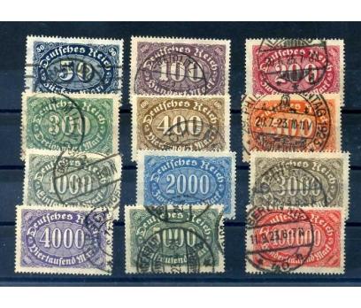 REİCH 1922-23 DAMGALI KLASİK TAM SERİ  SÜPER