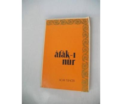 AFAK-I NUR ACAR TUNCER