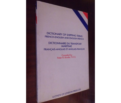 DICTIONARY SHIPPING TERMS / FRENCH- ENGLISH