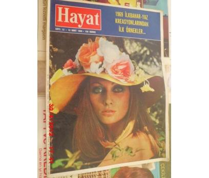 HAYAT DERGİSİ 1969 SAYI 12 GÜNEŞ ANTALYA KOCAELİ