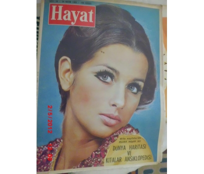 HAYAT DERGİSİ 1969 SAYI 48 GERRY LOW