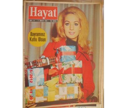 HAYAT DERGİSİ 1969 SAYI 51 YELDA GÜRANİ