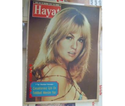 HAYAT DERGİSİ 1970 SAYI 25 MYLENE DEMONGEOT
