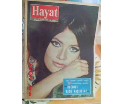 HAYAT DERGİSİ 1970 SAYI 41 MARISA MELL