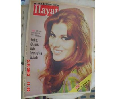 HAYAT DERGİSİ 1970 SAYI 43 MARIE LATOUR / MARAŞ