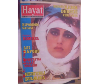 HAYAT DERGİSİ 1985 SAYI 30 MODA