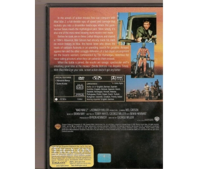 MAD MAX 2 The Road Warrior MEL GIBSON DVD 2