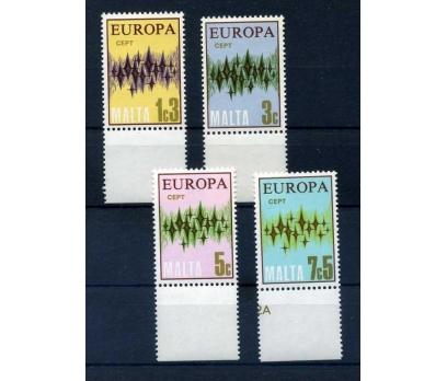 MALTA  ** 1972 EUROPA CEPT  TAM SERİ