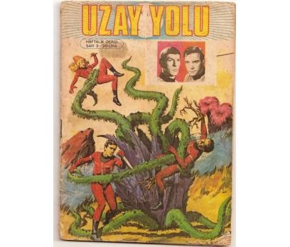 UZAY YOLU - SAYI 3 ALFA YAYINLARI