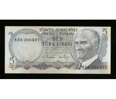 D&K-6. EMİSYON 5 LİRA SERİ K59 266497ÇİL