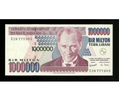 D&K-7.EMİSYON 1.000.000 LİRA SERİ S28 777303 ÇİL 1