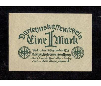 D&K- ALMAN 1 MARK 1922 BERLİN