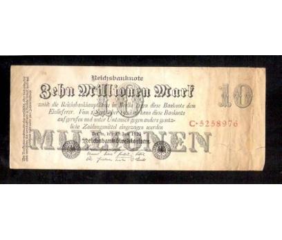 D&K- ALMAN 10 MİLYON MARK 1923 BERLİN