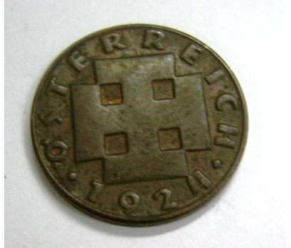 D&K-AVUSTURYA 2 CENT 1924 BRONZ